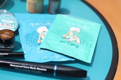 Summer Makeup: purifying skin masks