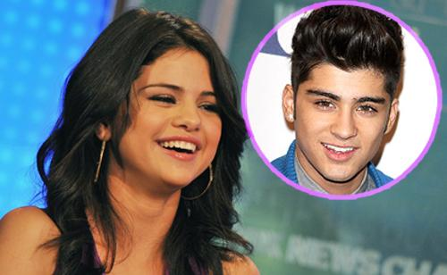 Young Celeb News: Selena Gomez would kissed Zayn Malik Zayn Malik And Selena Gomez 2013