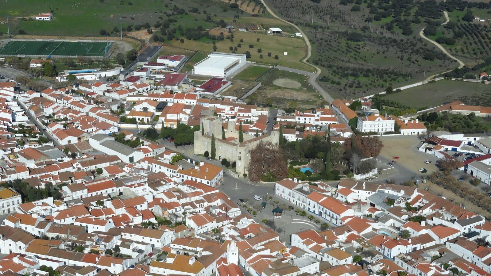 Alvito Portugal  City pictures : ALVITO BAIXO ALENTEJO: ALVITO VISTAS AÉREAS