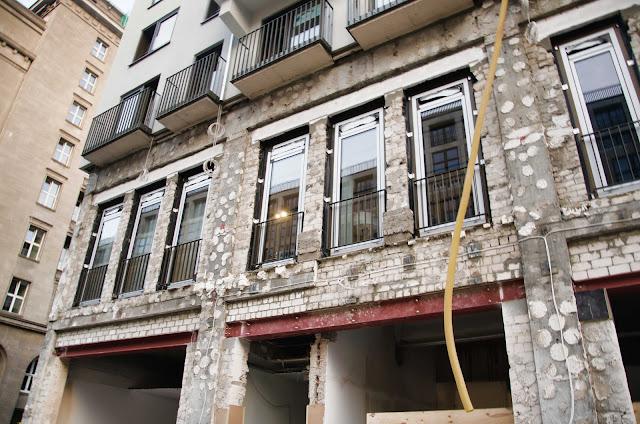 Baustelle Fassaden Restaurierung, Friedrichstraße 63, 10117 Berlin, 06.06.2015