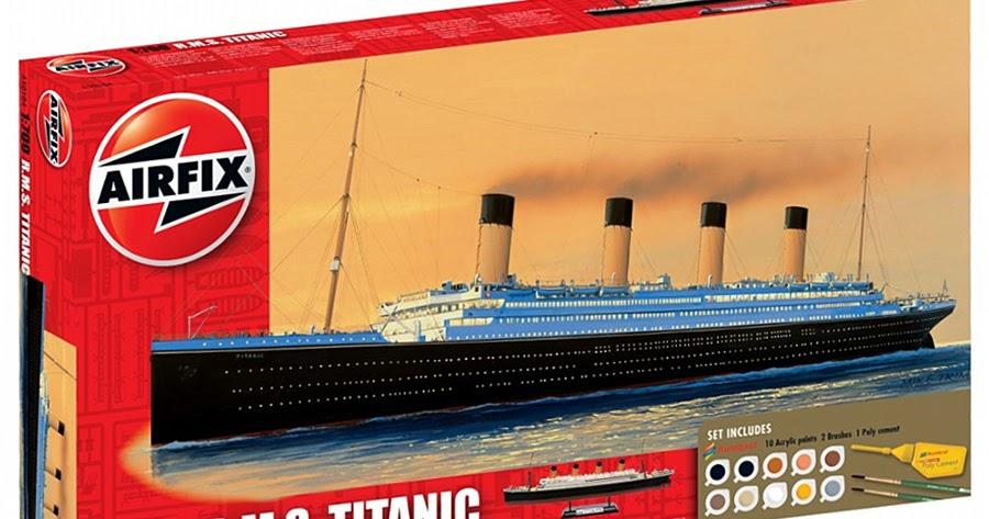 Scale Model News Xtra: TITANIC HIT THE ICEBERG 100 YEARS AGO