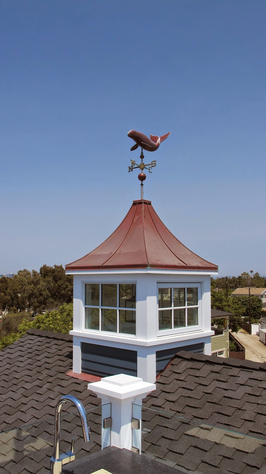 Nautical by Nature   Coastal Living Showhouse: Second Floor Rooftop Decks