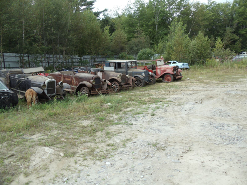The Seller Claims That Cars Were All Recently Pulled From A Large Barn But Given Their Condition We Think They May Have Been Out In Elements For