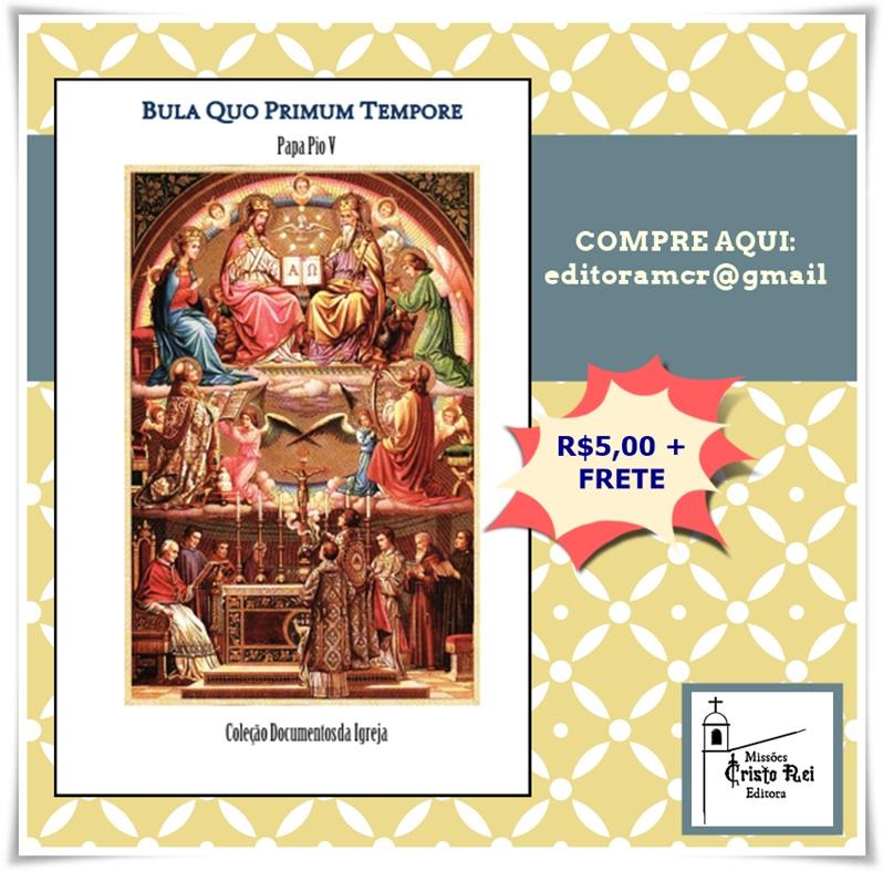 Bula Quo Primum Tempore de São Pio V