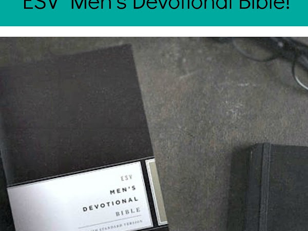 GIVEAWAY : ESV Men's Devotional Bible