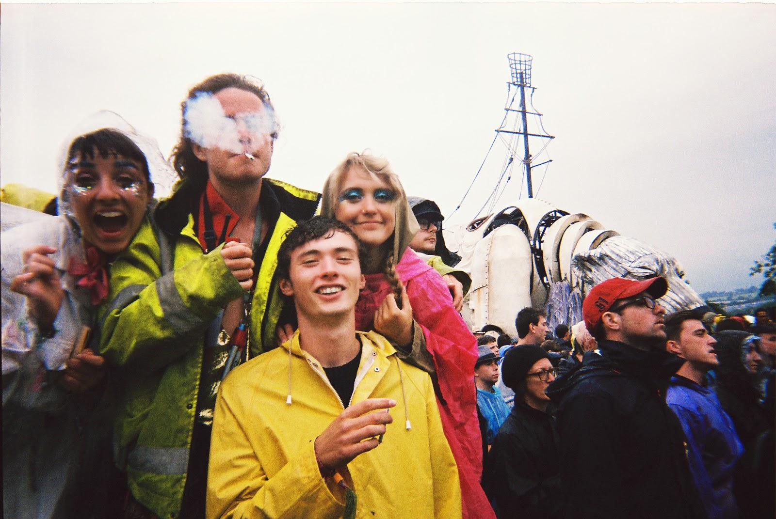 Greenpeace field, glastonbury, polar bear, New york Brass band