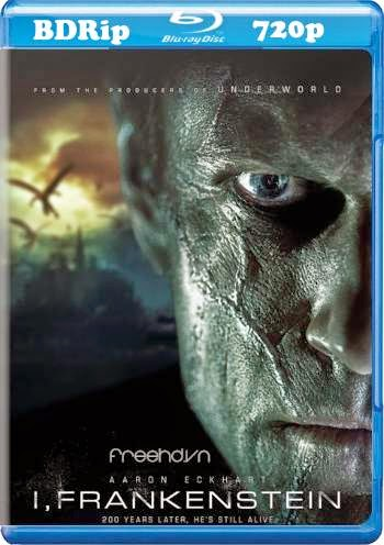 cover blu-ray 720p I frankenstein 2014