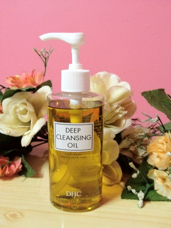1.Deep Cleansing oil.