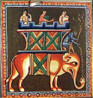 miniatura ornamental medieval