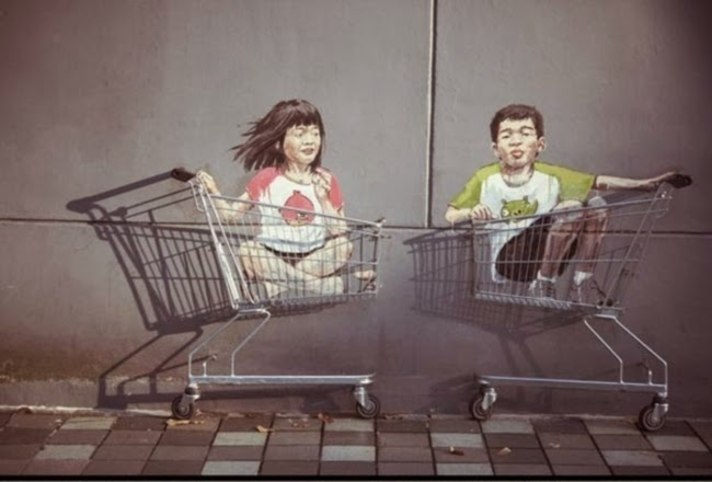 Seni Jalanan Kreatif Yang Mungkin Tidak Pernah Anda Lihat 10 Gambar