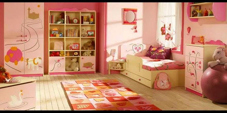 contoh gambar interior kamar tidur anak rumah minimalis