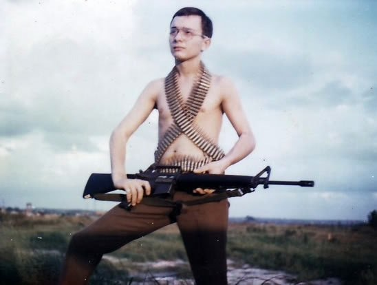 40 Vintage Photographs of Young U.S. Soldiers Being