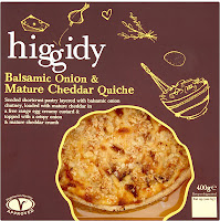 Higgedy Pies - Balsamic Onion and Mature Cheddar Quiche