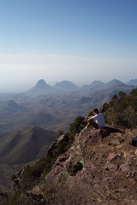 South Rim View, Big Bend, Chisos Range