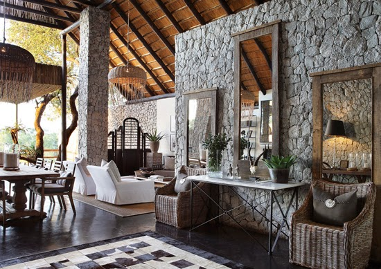 Safari Fusion blog | Sticks & stones | Sophisticated safari style at Londolozi Private Granite Suites, Kruger South Africa