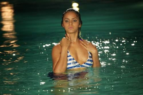 Neetu Chandra taking bath in swimming pool hot photos free download neetu chandra hot pics gallery