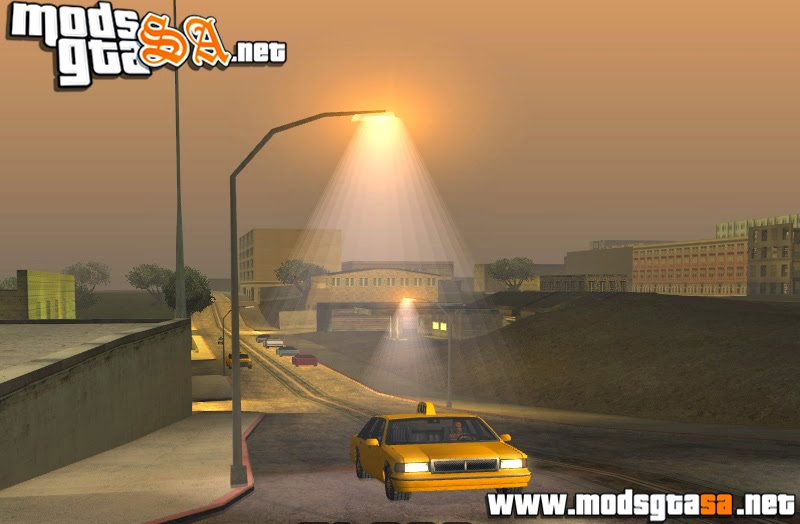 SA - Mod Improved Lamppost Lights (Luzes Realista)