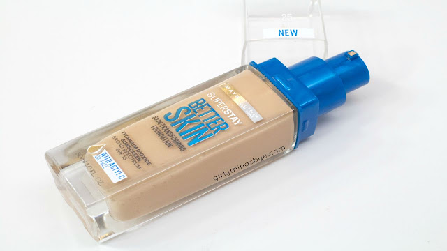 Maybelline Better Skin Foundation, SuperStay, Review, @girlythingsby_e