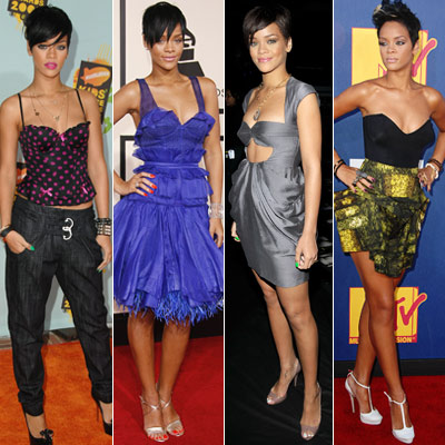 Rihanna Fashion 2012