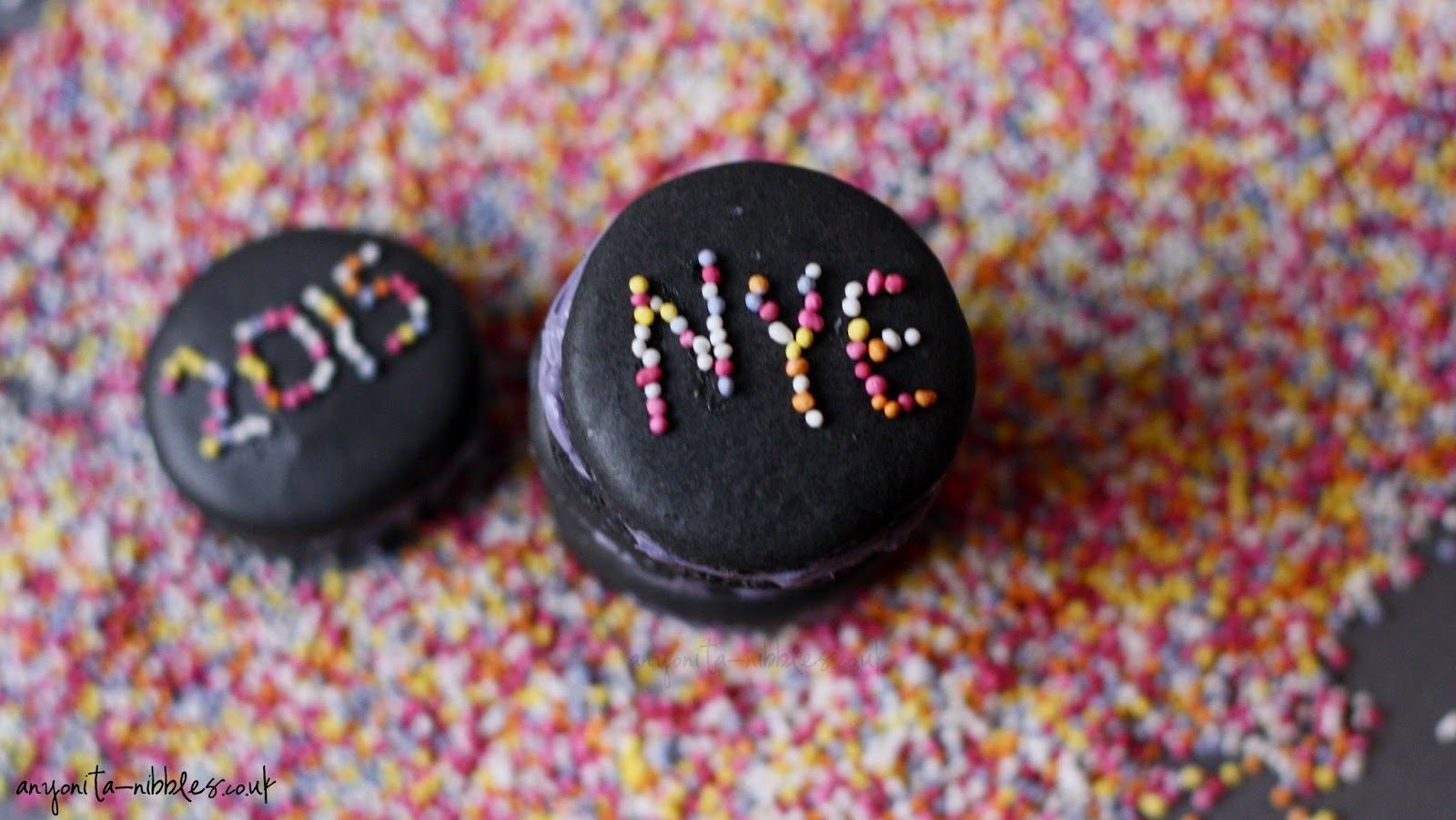 Happy New Year's Eve from Anyonita-nibbles.co.uk