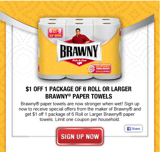 photograph regarding Brawny Printable Coupons identified as Oregon Coupon Specials: Reasonably priced Paper Towels And Bathtub Tissue At
