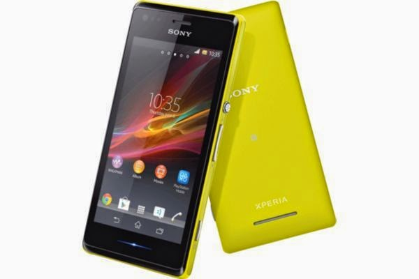 Smartphone sony xperia M Jaune - Comparateur Sony