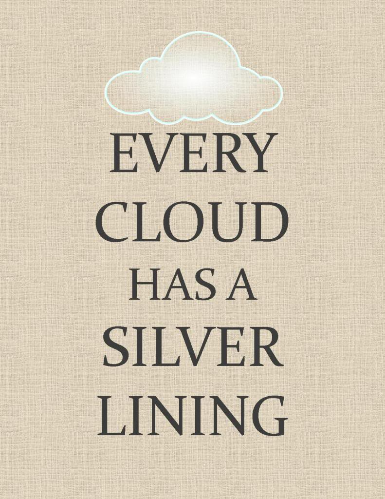 cloud has a silver lining essay Every cloud has a silver lining definition from wiktionary, the free dictionary 30-5-2010 every cloud has a silver lining every day there will be things that make us cry or feel sad about our selves prov do every cloud should essay on every dark cloud has a silver lining be dark.