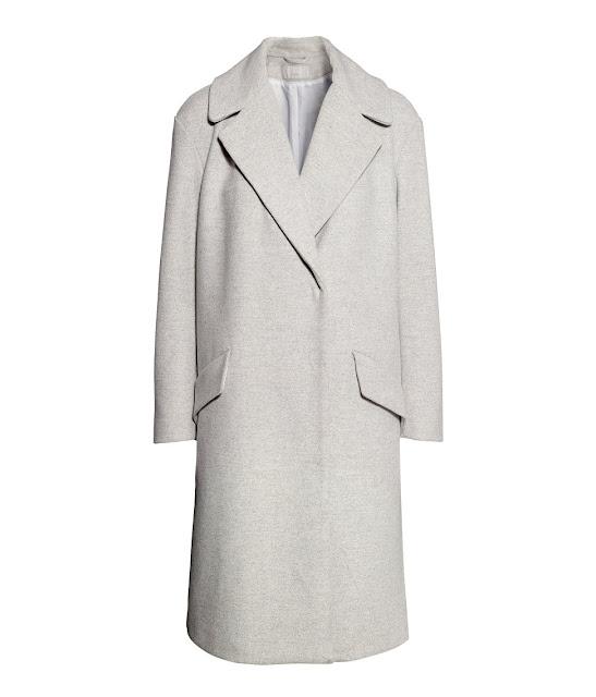 light grey wool coat