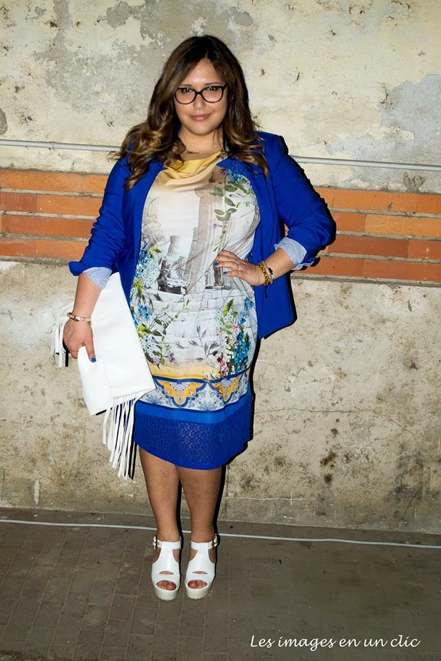 Curvy blog by moira pugliese blue city party di luisa via for Luisa via di roma