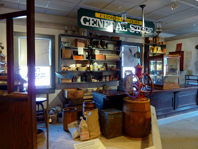 La antigua tienda en el Erie Canal Museum de Syracuse