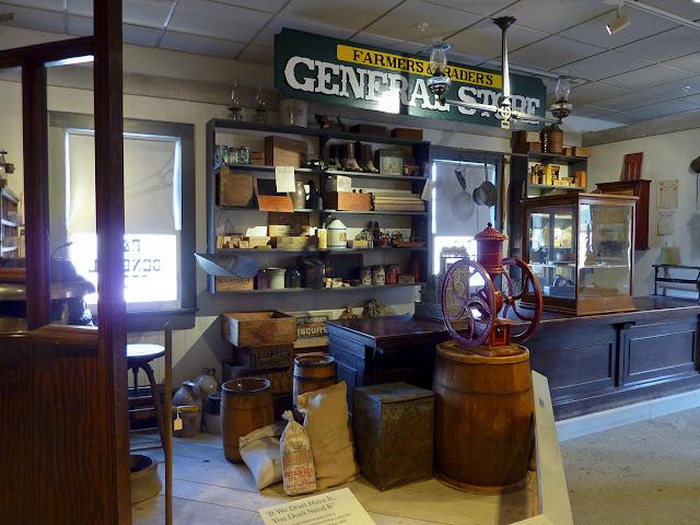 La antigua tienda en el Erie Canal Museum de Syracuse