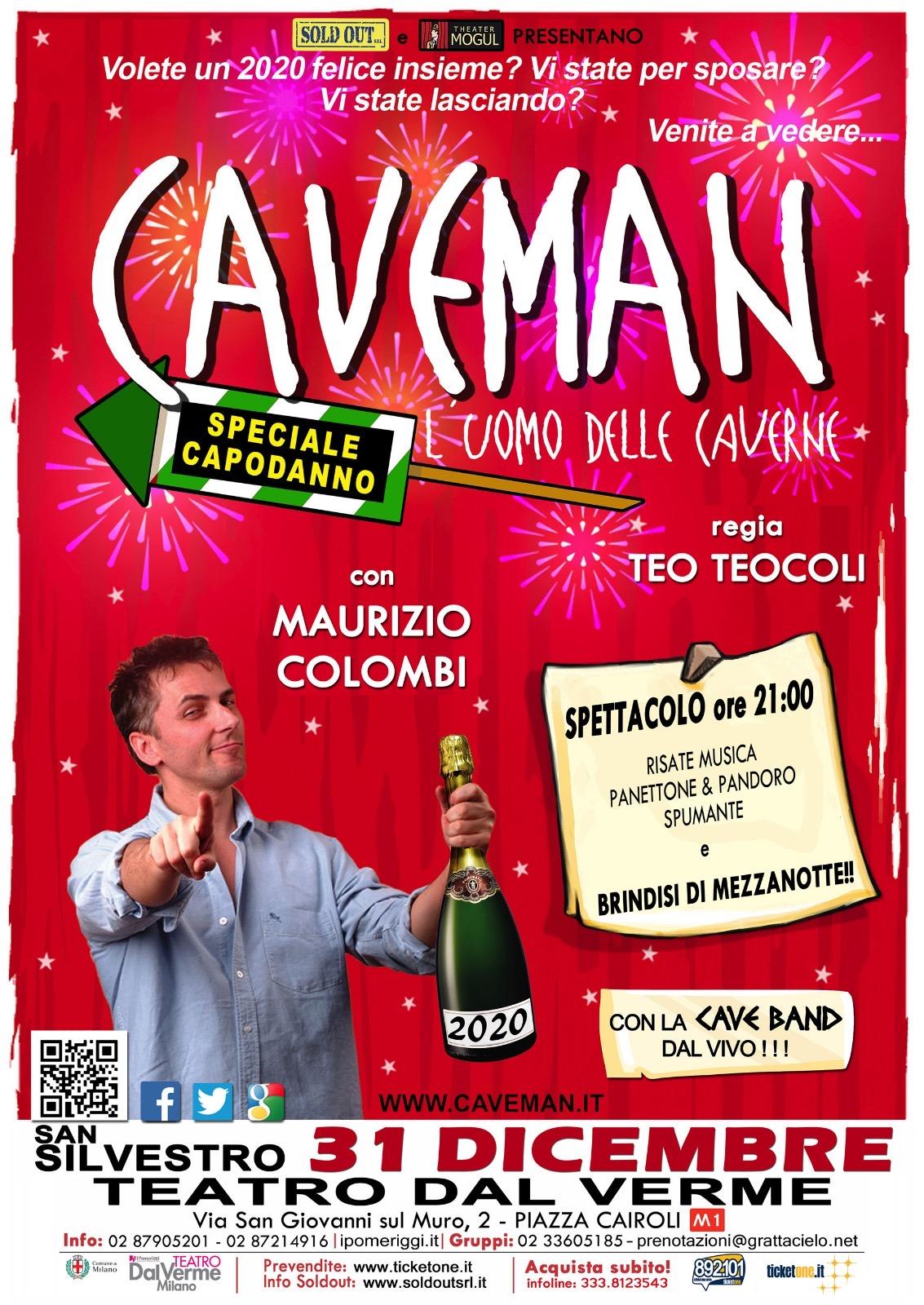 Caveman al Dal Verme di Milano