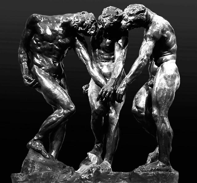 sombras de Rodin