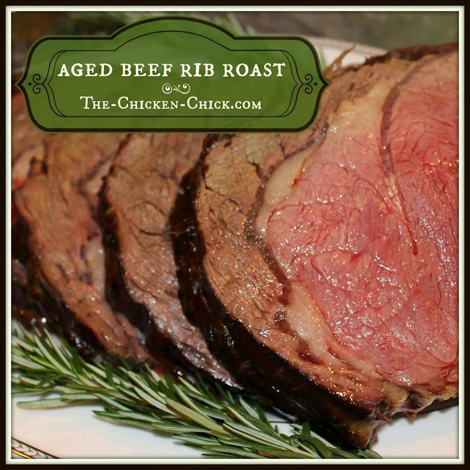 Aged Beef Rib Roast Recipe