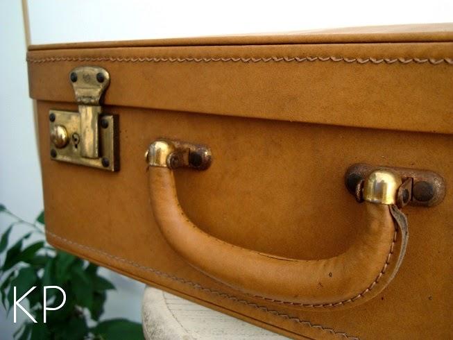 Maletas de cuero y skay. Venta de artículos de colección y objetos de época
