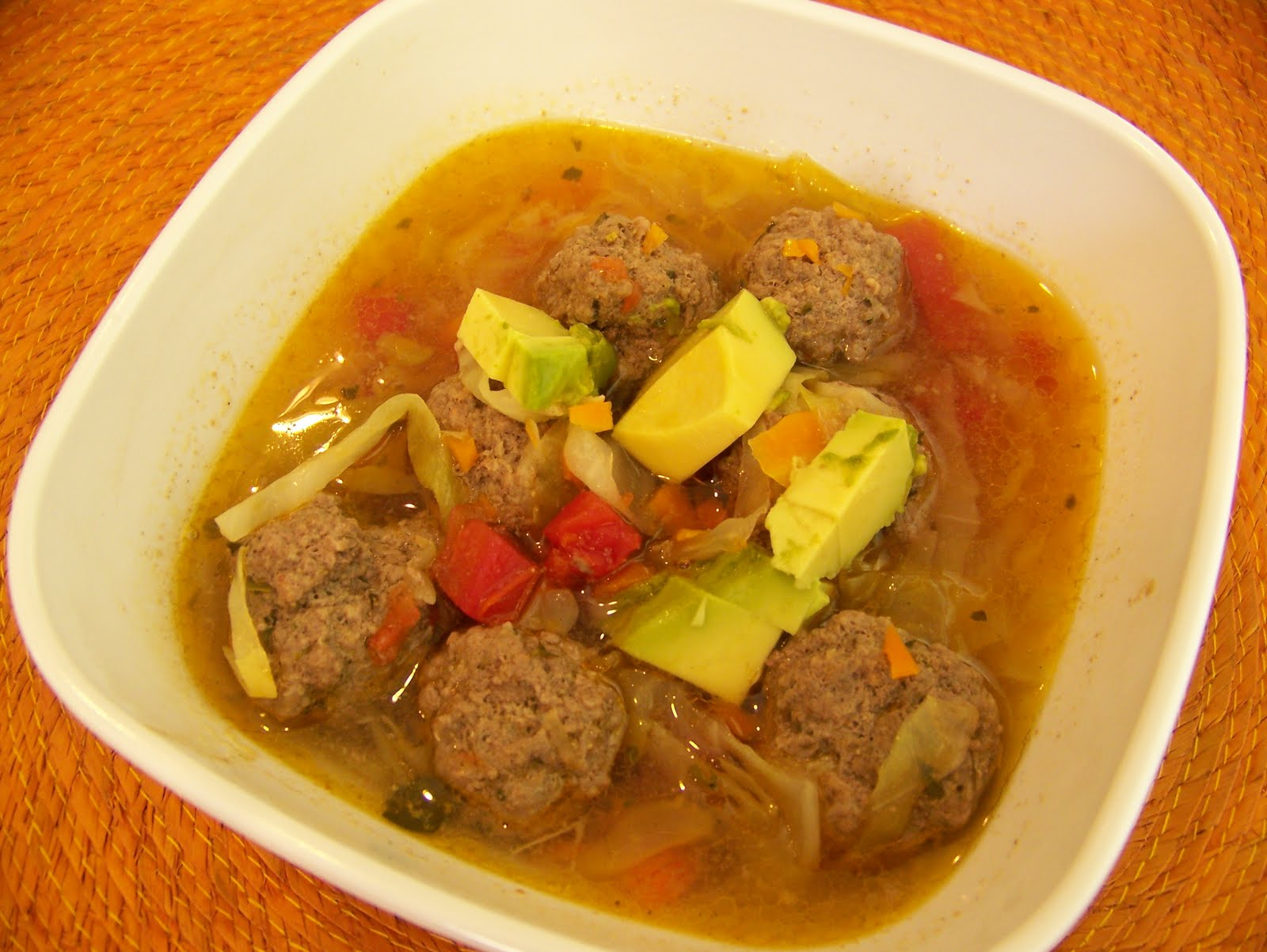 Couldn't Ask For More: Paleo Dinner- Mexican Meatball Soup