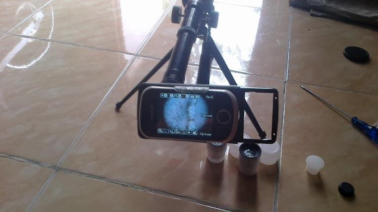 Kisah hidup iw : membuat teleskope telescope kamera camera