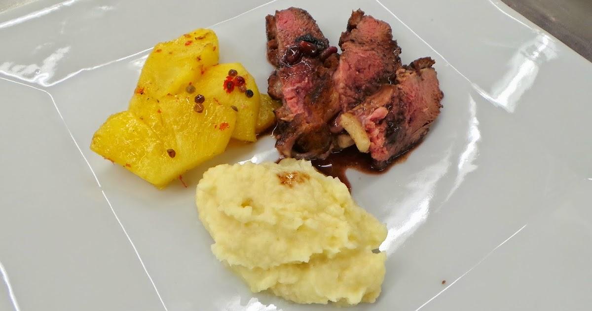 My culinary curriculum magrets de canard la grenade - Cuisiner magret de canard a la poele ...