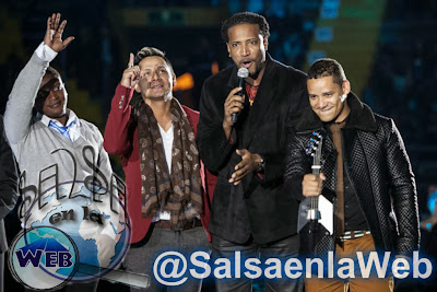 ► Grupo Niche Ganador del Mejor Disco de Salsa 2013