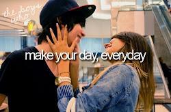 Quiero verte sonreir