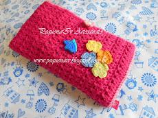 Kit Higiene Infantil - Crochê