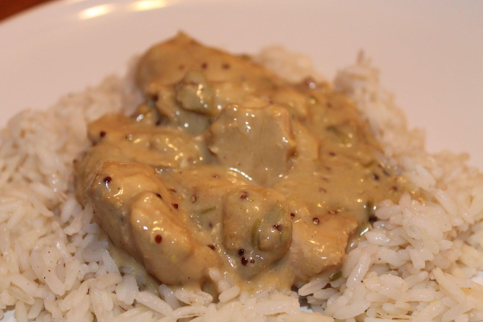 Les douceurs de genny poulet sauce asperges et oignons - Cuisiner le poulet en sauce ...