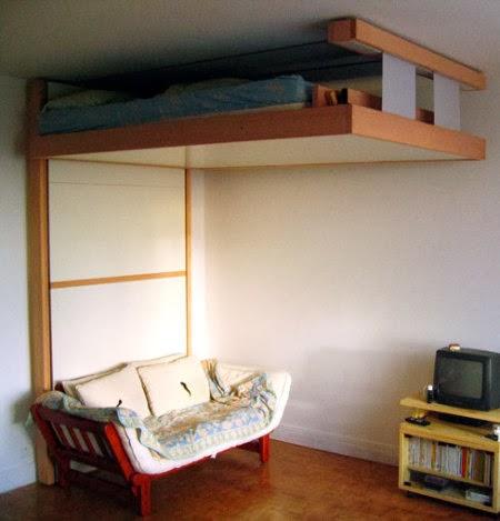 Decora tu vida diy camas ocultas y de doble uso - Muebles doble uso ...