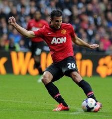 Robin van Persie, Manchester United forward