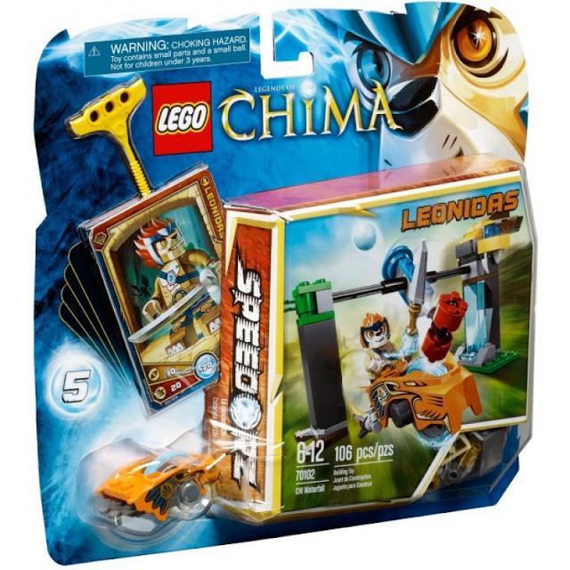 Đồ Chơi Xếp Hình LEGO Chima 70102 CHI Waterfall