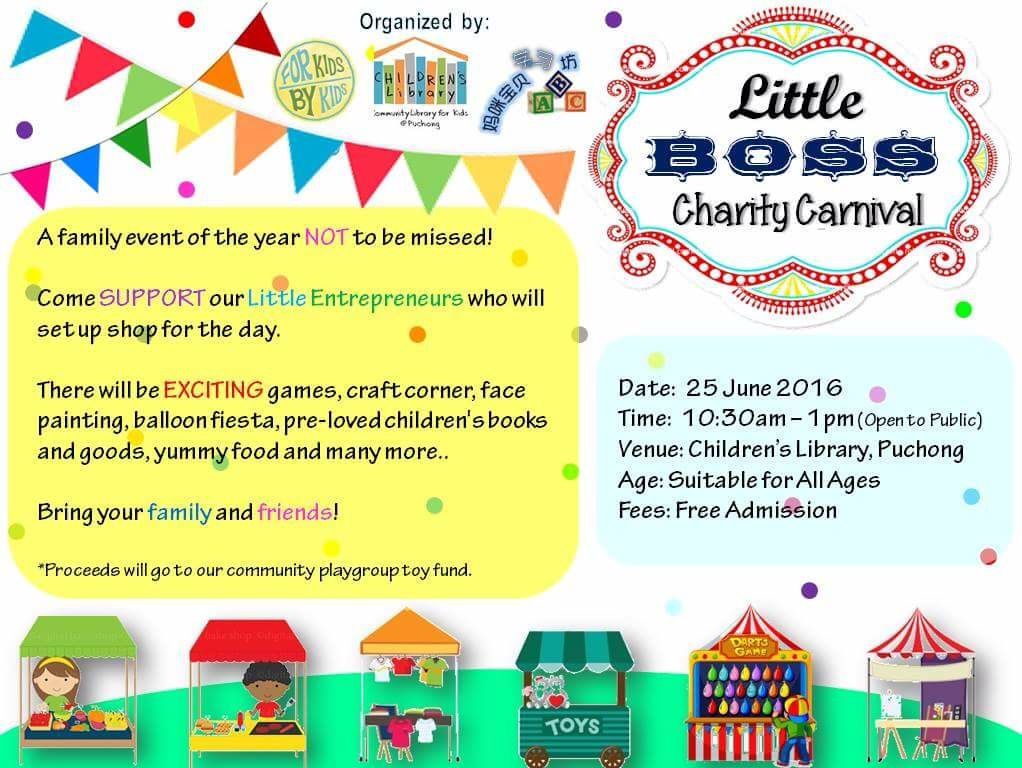 Little Boss Charity Carnival