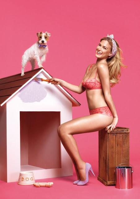 fotos de Bar Refaeli em lingerie