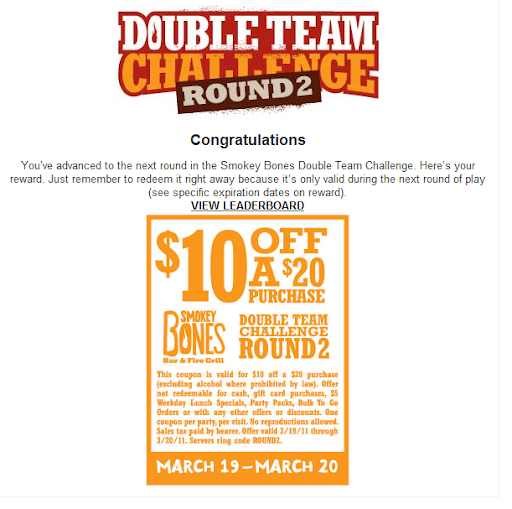 graphic about Smokey Bones Coupons Printable referred to as Smokey bones coupon - Adorable good nashville