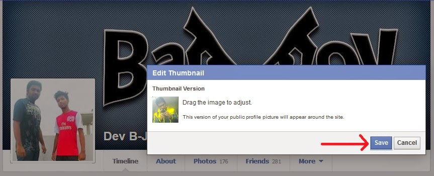 Facebook Two Profile Picture Cheat
