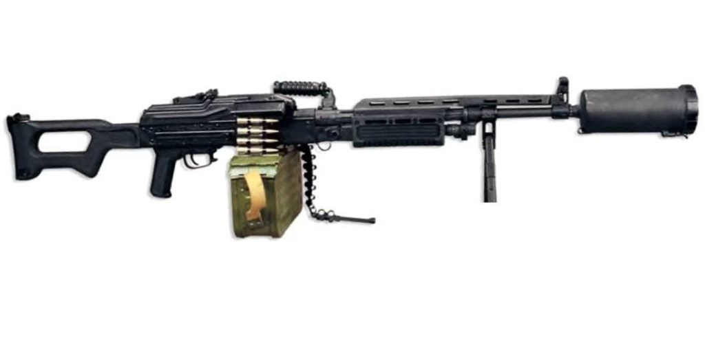 Russian AEK-999 Barsuk Machine Gun | Global Military Review